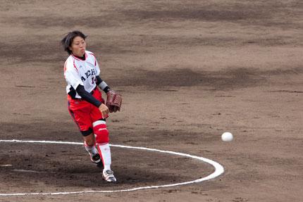 愛知・染谷美佳投手