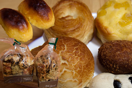 代官山シェ・リュイのパンとプティ・サレ・アペリティーフ