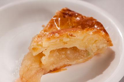 上越市ラ・ソネ菓寮のアップルパイ