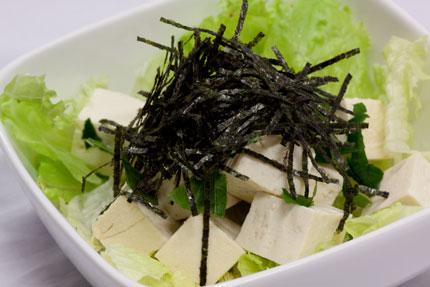 歌代さんの豆腐サラダ