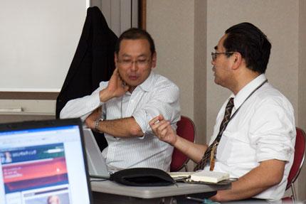 加藤先生への質問も熱を帯びてきます