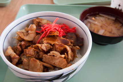 ミソダレ豚焼き肉丼