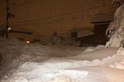 今日は雪が止んでくれるだろうと思った1月15日