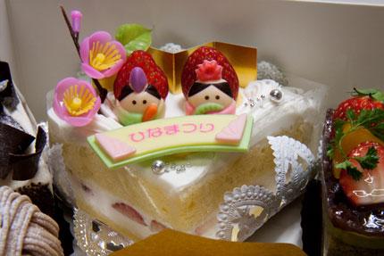 レ・ドゥーのケーキ