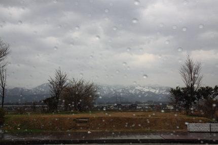 雨模様の旅