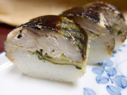 「焼き鯖寿司」