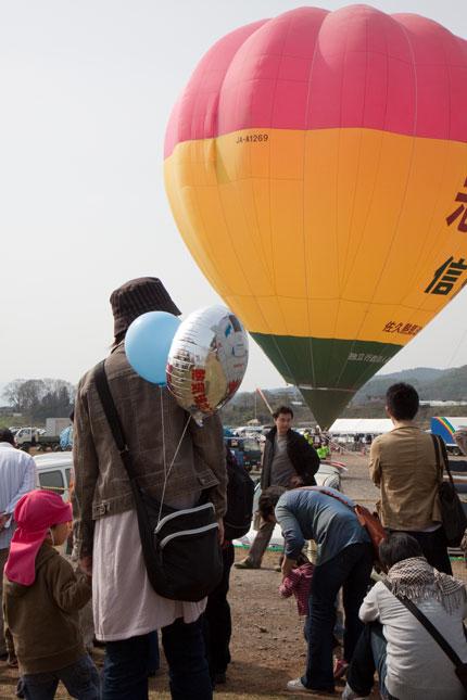気球の飛行体験