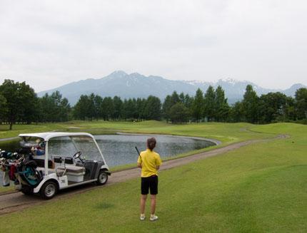 快適なゴルフ日和