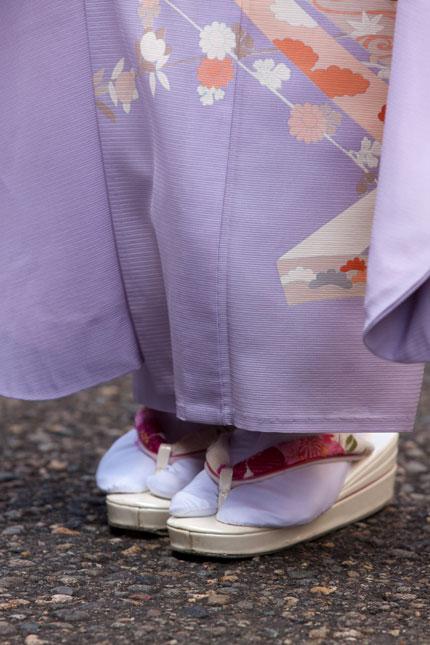 草履と足袋