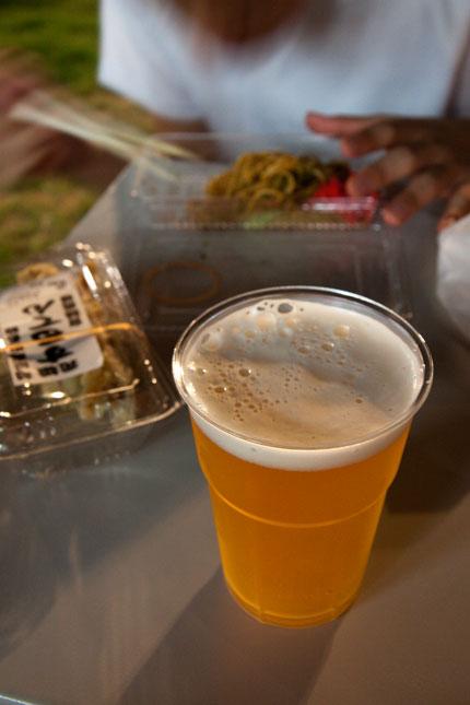 日本のビール(500円)