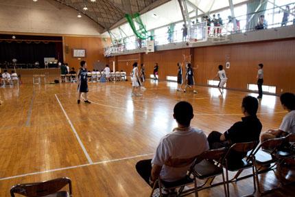 中学校バスケット大会