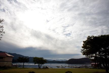 長野県の野尻湖