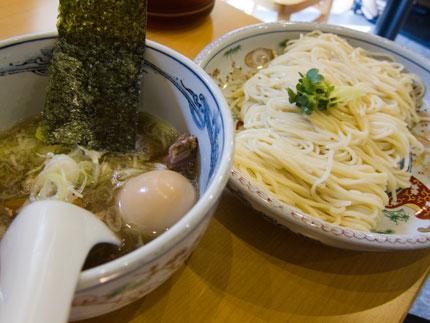 塩つけ麺大盛り(240g)