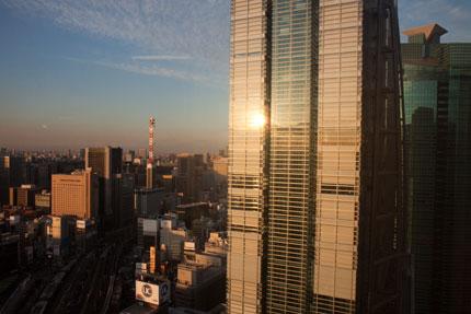 日本テレビの建物
