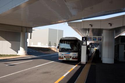 バスに乗り横浜へ