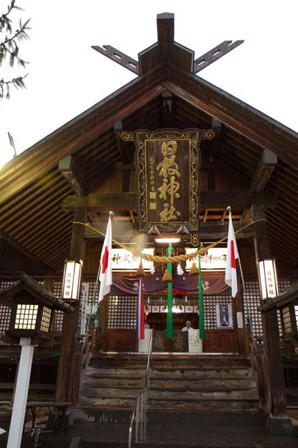 日枝神社にて初詣