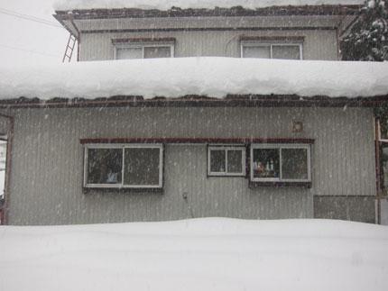 雪下ろしをしなくてはいけない雪の量