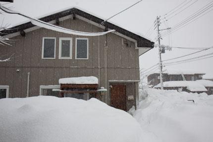 除雪が仕事になりつつあった