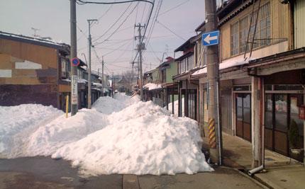 これくらいの雪