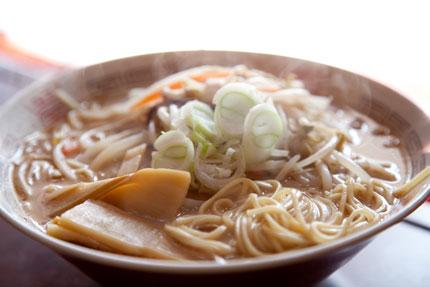 乾麺タイプのラーメン