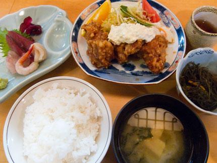 日替わり定食730円