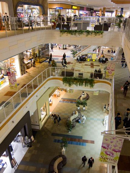大型ショッピングセンター