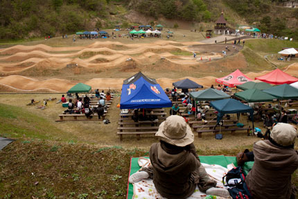 BMX金谷山大会