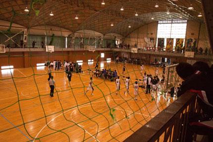 中学バスケットボール大会