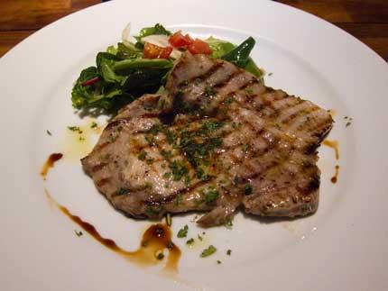 豚ロース肉のグリル