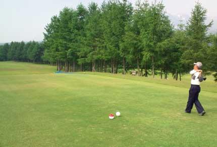 平山地区のゴルフコンペ