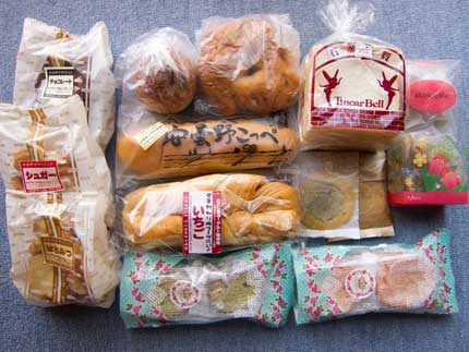 お土産用のパン