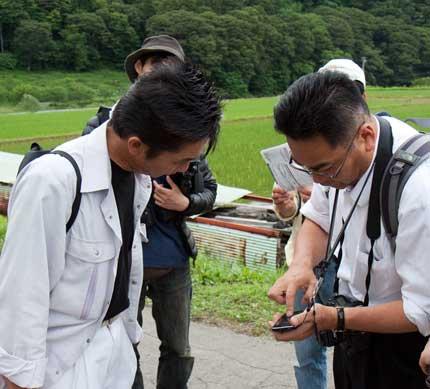 撮影の作戦会議