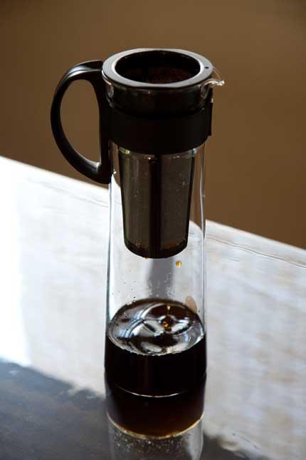 水出し珈琲用の容器