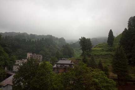 長岡市蓬平温泉
