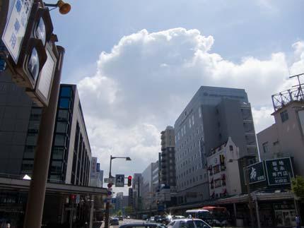 新潟市に降り立ちました