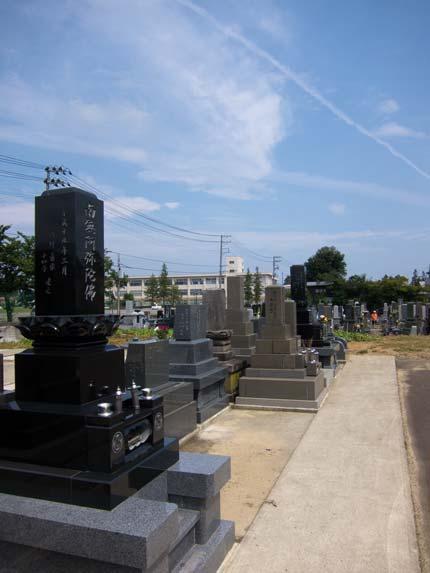亡父の墓参り