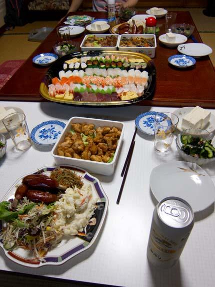 豪華な食事
