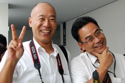 加藤先生とご挨拶記念撮影