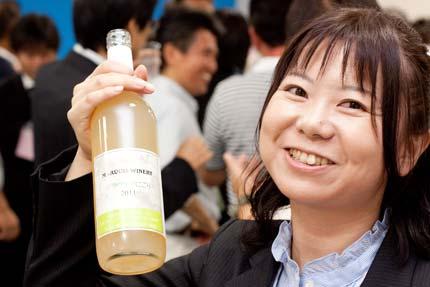 まるき葡萄酒の上田さん