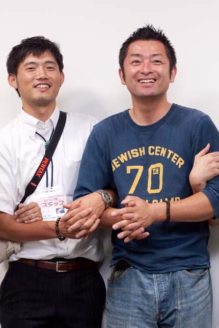 山梨の名取貴石ナトリさんとリモデヤドットコム横内さん