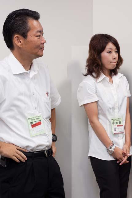 宮城の本橋製作所、井上さん宮城の今野醸造はこり入り娘さん