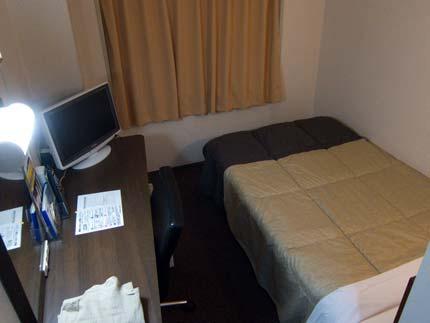 ホテルに帰って休みました