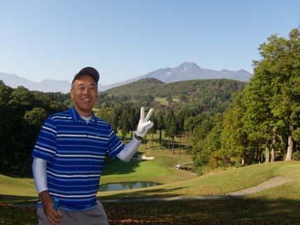 絶好のゴルフ日和
