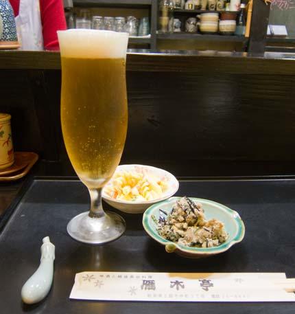 締めのビール
