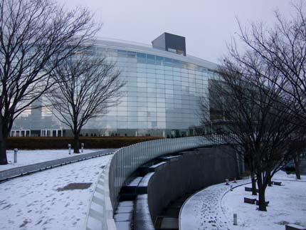 新潟市も雪が降り、とっても寒い日