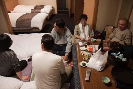 マッタリと日本酒で語り合い