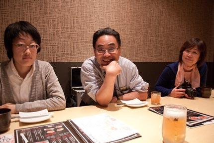 加藤先生、Muさん、チカさん