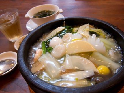鳳苑飯-海鮮あんかけ御飯1500円