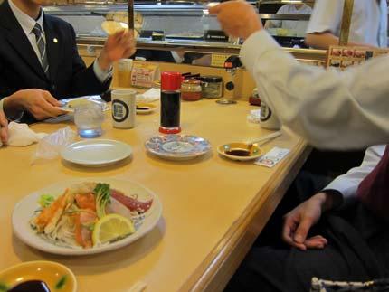 回転寿司屋さん