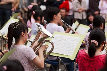 高校生による吹奏楽